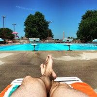 Photo taken at East Potomac Park Pool by Jason T. on 5/23/2015