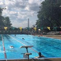 Photo taken at East Potomac Park Pool by Jason T. on 7/24/2015