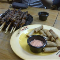 Photo taken at Yoo-Hoo Bar-B-Que by JM L. on 12/19/2012