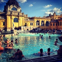Photo taken at Széchenyi Thermal Bath by Virginia Y. on 4/14/2013