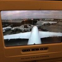 Photo taken at Lufthansa Flight LH 463 by Tero R. on 11/16/2013