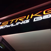 Photo taken at Strike Bowling Bar by Song Z. on 2/16/2014
