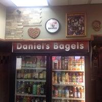 Photo taken at Daniel's Bagels by Randie C. on 12/17/2013