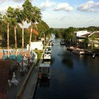 Photo taken at Lake Tarpon Resort by Renee D. on 10/26/2012
