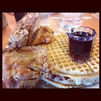 Photo taken at Lo-Lo's Chicken & Waffles by Odeen D. on 10/26/2012