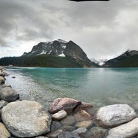 Photo taken at Lake Louise by Yat S. on 6/13/2013