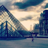 Photo taken at The Louvre by Jenny D. on 7/1/2013
