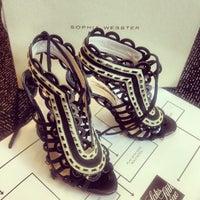 Photo taken at Saks Fifth Avenue-Shoe by Jenny D. on 6/14/2013