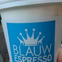 Photo taken at BLAUW ESPRESSO by Nijimu A. on 9/23/2015
