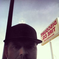 Photo taken at Discount Tire® Store by Wade A. on 1/25/2014
