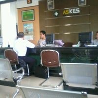 Photo taken at Kantor PT Askes by muhammad iqbal f. on 10/3/2012
