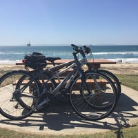 Photo taken at Huntington Beach Bike Trail & Boardwalk by 🎀 Jeejay 🎀 on 9/25/2016