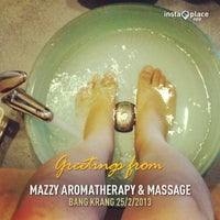 Photo taken at Mazzy Aromatherapy & Massage by YiNG S. on 2/25/2013