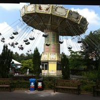 Photo taken at Bobbejaanland by Drieke D. on 7/15/2013