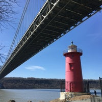 Photo taken at Little Red Lighthouse by Brittany A. on 4/16/2016