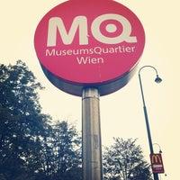 Das Foto wurde bei MuseumsQuartier von Bryan M. am 10/8/2012 aufgenommen