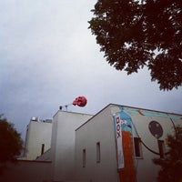 Photo taken at DOX Centre for Contemporary Art by Bryan M. on 10/1/2012