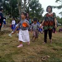 Photo taken at Danau perum Alamanda regency by Amiruddin S. on 10/20/2012