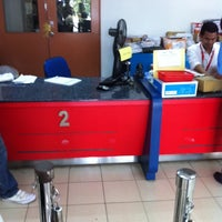 Photo taken at Pos Malaysia by Terence O. on 12/29/2010