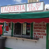 Photo taken at Taqueria El Si Hay by Bill C. on 5/19/2012
