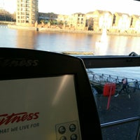 Photo taken at Surrey Docks Watersports Centre by Shayan S. on 12/6/2014