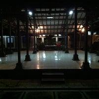 Photo taken at Taman Budaya Jawa Tengah by onard o. on 12/19/2012