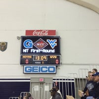 Photo taken at McDonough Gymnasium, Georgetown University by Andrew R. on 3/18/2014