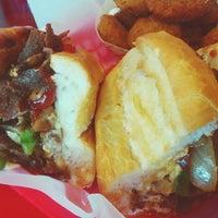 Photo taken at Olive Burger by Karen R. on 8/26/2015