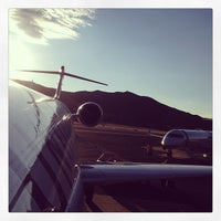 Photo taken at Aspen/Pitkin County Airport (ASE) by Mike I. on 7/25/2013