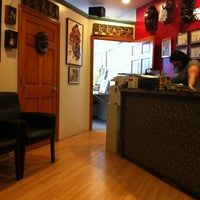 Photo taken at Chameleon Tattoo and Body Piercing by Kerri W. on 1/13/2013