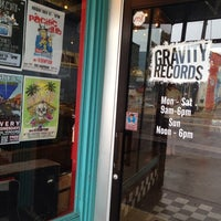 Photo taken at Gravity Records by James Ethan C. on 7/13/2013