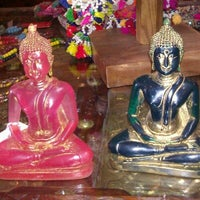 Photo taken at Bhoom Shanti by Janet F. on 10/7/2012