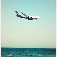 Photo taken at Mackenzy Beach by Barashka on 7/19/2013