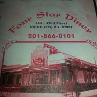 Photo taken at Four Star Diner by Betsy C. on 7/20/2013