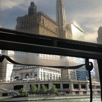 Photo taken at Chicago Water Taxi (Michigan) by Nicole D. on 9/14/2013
