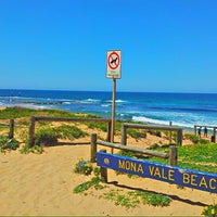Photo taken at Mona Vale Beach by Phil R. on 10/19/2012