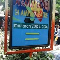 Photo taken at Maharani Zoo & Goa Lamongan by erni t. on 1/4/2015