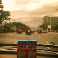 Photo taken at Marcos Highway by Joana D. on 3/8/2013