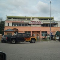 Photo taken at POSLAJU National Courier by Qayyum H. on 12/14/2012
