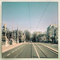 Photo taken at Tramhalte Oosteinde by Ria B. on 4/1/2013