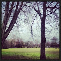 Photo taken at Oosterpark by Ria B. on 3/3/2013