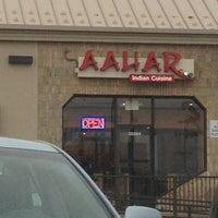 Photo taken at Aahar Indian Cuisine by Aldo on 4/6/2013