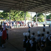 Photo taken at Escuela Primaria Lazaro Cardenas by Felix C. on 10/24/2012