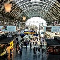 Photo taken at Frankfurt (Main) Hauptbahnhof by Leander W. on 6/17/2013