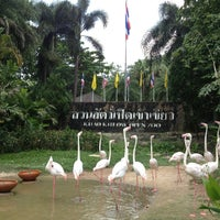Photo taken at Khao Kheow Open Zoo by พสธร ว. on 3/31/2013