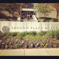 Photo taken at Sansom Place West by Yuan Y. on 10/20/2012