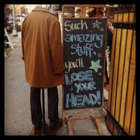 Photo taken at Cure Thrift Shop by Inside New York on 1/8/2013