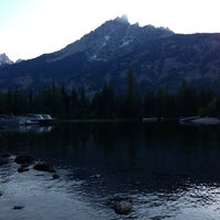 Photo taken at Jenny Lake Boating by Jeff P. on 7/27/2013
