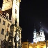 Photo taken at Prague Astronomical Clock by Jan S. on 10/1/2012