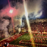 Photo taken at Memorial Stadium by Jesse N. on 9/22/2013